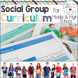 Social Group Curriculum for Middle and High School Students