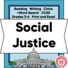 Social Justice: Not Just A Book Report
