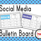 Social Media Bulletin Board Set