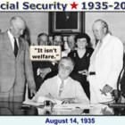 Social Security History  1935-2013