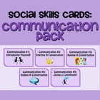 Social Skills Cards: Communication Skills Pack