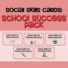Social Skills Cards: School Success Pack