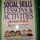 Social Skills Lessons and Activities for Grades PreK-K