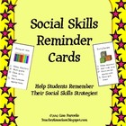 Social Skills Reminder Cards