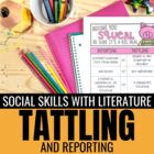 Social Skills through Children's Literature: Tattling vs.