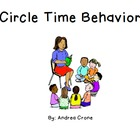 "Social Story ""Circle Time Behavior"""