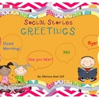 Social Story: Greetings