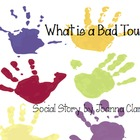 "Social Story- ""What is a Bad Touch?"" Printable"