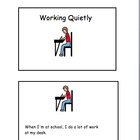 Social Story for Students with Autism:  Working Quietly