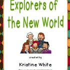 Social Studies Explorers of the New World Foldable Graphic