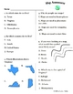Social Studies: Geography & Map Skills: Assessment & Study Guide