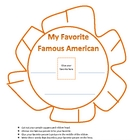 Social Studies:  My Favorite Famous American Ribbon