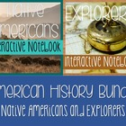 Social Studies Notebook Bundle-Native Americans AND Explor