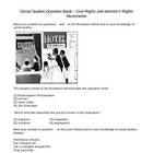 Social Studies Question Bank - Civil and Womens Rights (K - 8)