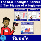 Social Studies Vocabulary: Pledge of Allegiance and Star-S