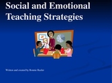 Social and Emotional Teaching Strategies
