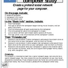 Social networking Composer Study (technology, writing, cro