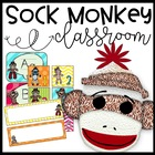 Sock Monkey Funky Classroom Theme Pack