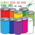 Soda Cans - Clipart Graphics From the Pond