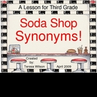 Soda Shop Synonyms