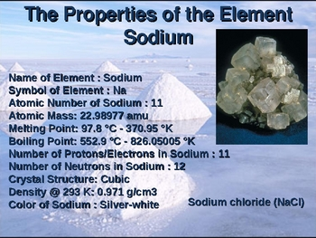 Sodium and Health