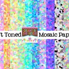 Soft Mosaic Backgrounds