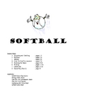 Softball Unit Plan
