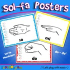 Sol-fa Handsign Posters
