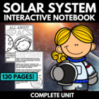 Solar System: An Interactive Notebook Unit on Astronauts a