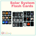 Solar System Flash Cards - Space Vocabulary Flash Cards