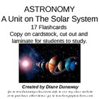 Solar System Flashcards updated 6/3/12