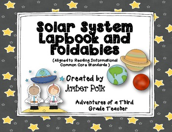 Solar System Lapbook Unit {Common Core}