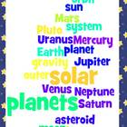 Solar System Study Guide and Quiz- Third Grade