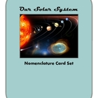 Solar System Vocabulary Cards