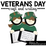 Soldier Boy and Girl- Craft and Writing Templates