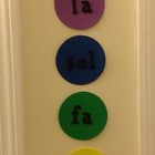 Solfege Pitch Ladder for your music room