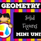 Solid Figures ( 3D Shapes )  Presentation and Assessment Pack