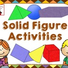 Solid Figures Activities