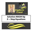 Solution Mash - Up Two Step Equations