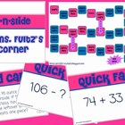 Solve N Slide Math Board Game with Task Cards Level ONE