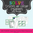 Solve Systems of Linear Equations Unit Bundle