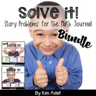 Solve This Bundle - Math Journal Story Problems