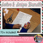 Solve and Snip Personal Use Bundle Grades 4-8