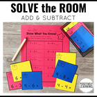 Solve the Room Addition and Subtraction