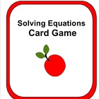 Solving Equations - Activity, Game and Worksheets!