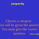 Solving Equations Jeopardy Game  PowerPoint