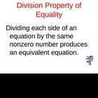 Solving Equations with Mult and Division
