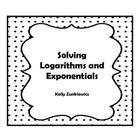 Solving Logarithmic Functions and Exponential Functions