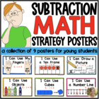Solving Math Problems {Strategy Posters for Subtraction} C