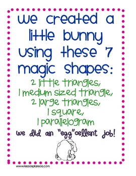 "Some ""Bunny"" Knows Tangrams"
